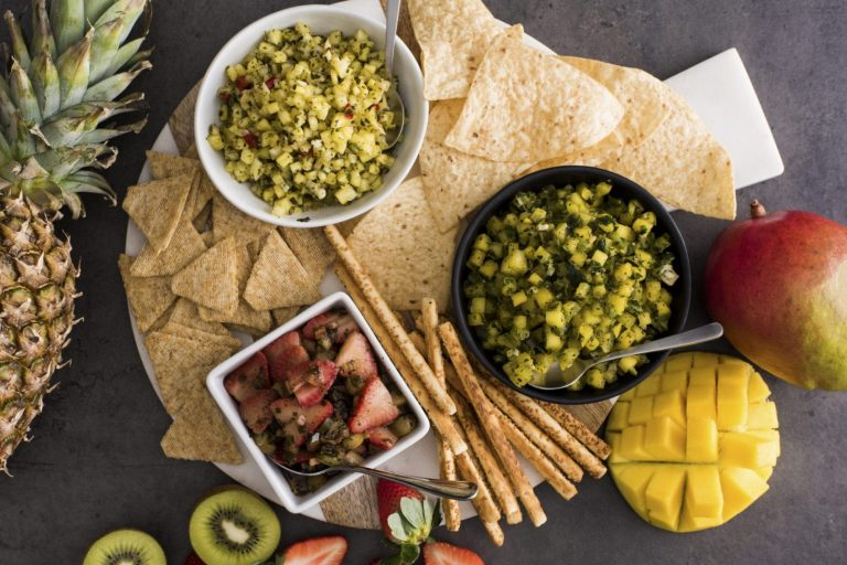 MANGO-SALSA-STRAWBERRY-KIWI-SALSA-PINEAPPLE-SALSA-HIGH-RES