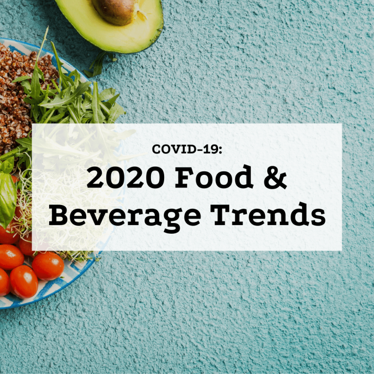 COVID-19: 2020 Food & Beverage Trends Featured image
